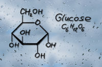Structural model of Glucose