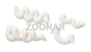 White Toothpaste Isolated On White Background