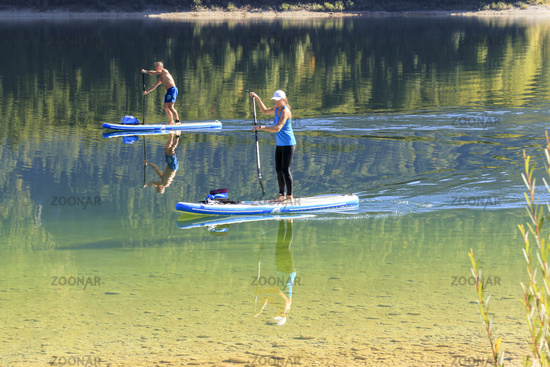 Stand UP Paddling trend sport, SUP
