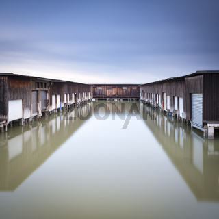 Lake neusiedl sheds for boats in winter