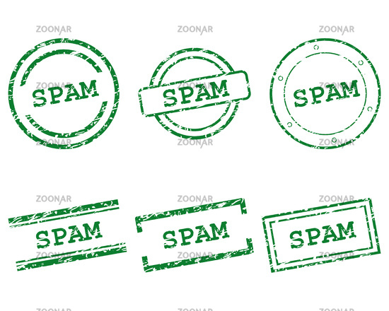 Spam Stempel - Spam stamps