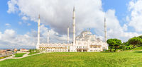 New Big Camlica Mosque of Istanbul, Turkey