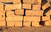 Mud bricks factory in Madagascar