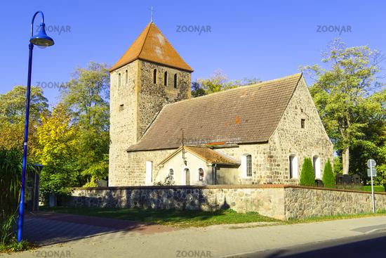 Church Weesow near Werneuchen, Brandenburg, Germany