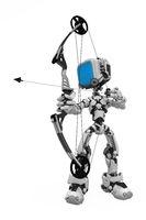 Blue Screen Robot, Archer