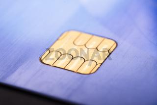 Chipkarten Modul einer Smartcard