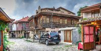Streets of the old town of Nesebar, Bulgaria