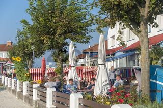 Restaurant an der Strandpromenade von Laboe