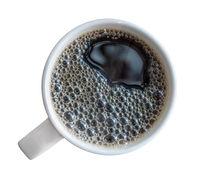Mug Of Fresh Black Coffee
