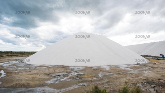 hill of salt at sea
