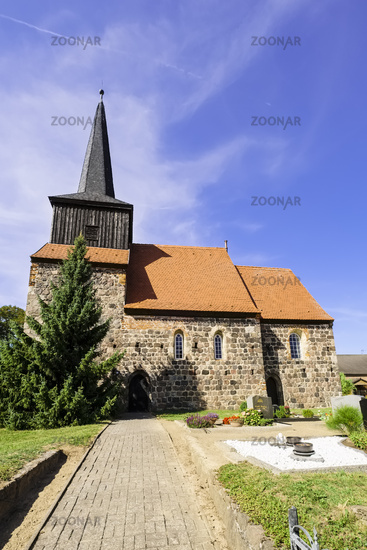 Church Metzelthin (Wusterhausen/Dosse), Brandenburg, Germany