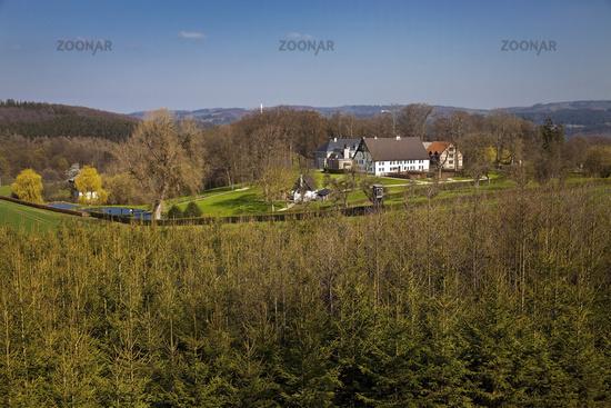 Grange Eicken, Werdohl, Sauerland, North Rhine-Westphalia, Germany, Europe