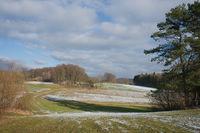 Field path with field near Wildenhof, Koenigstein/Opf. , Oberpfalz, Bavaria