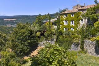 Außenansicht des Dorfes Aurel