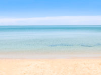 Seascape pastel tone