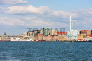 View to Gothenburg from the water