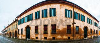 Corso Ercole I di Este in Ferrara, Italy