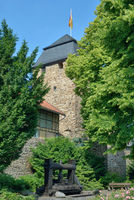 historical Town Wall in Ahrweiler,Rhineland-Palatinate,Germany