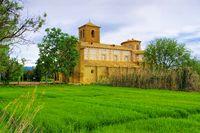 Huesca Ermita de Salasl in Aragonien, Spanien -  Huesca Ermita de Salas, Aragon in Spain