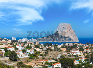 Rock of Calpe, Spain.