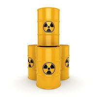 3D rendering radioactive barrels