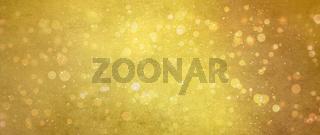 gold lichter grunge hintergrund banner