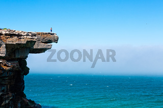 Eagle Rock and a sea fog