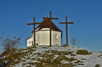 Chapel on the Kornbühl, Swabian Alb, Germany