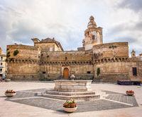 Abruzzo region landmark Vasto - Italy - the Castello di Caldoresco castle