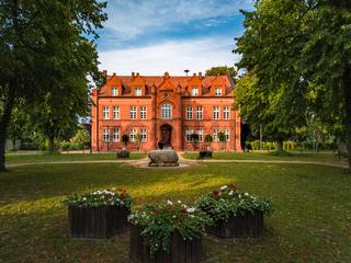 Historisches Rathaus von Dargun, Mecklenburg-Vorpommern, Deutschland