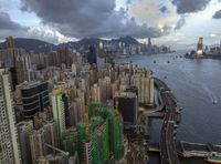 Hong Kong from the North Point area