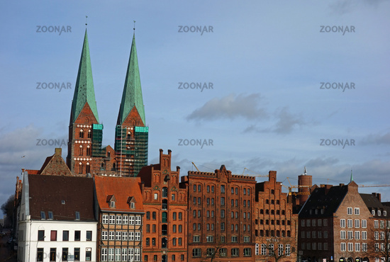 St. Mary's Church in Lubeck