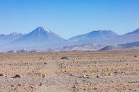 Chile Atacama desert Lascar volcano