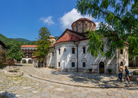 The Bachkovo Monastery of the Dormition of the Theotokos. The Cathedral Church of the Virgin Mary.