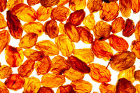 background of raisins in sale in the shop of dried fruit