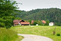 Gehöft in Niederbayern