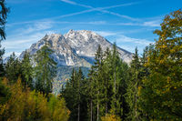 Bavarian Alps in autumn