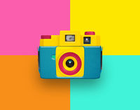 colored camera