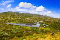 River in Buskerud region of Norway