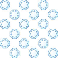 Seamless diamonds texture in blue shades. Background.