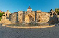 Fountain at Haken Terrases