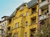 renovated old buildings in berlin westend, germany