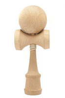 Kendama isolated, on white background. Kendama is an antique traditional japanese wood toy