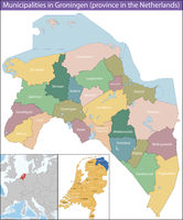 Groningen is a province of the Netherlands