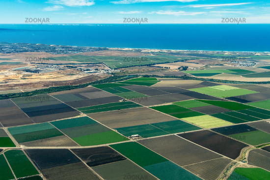 Farmland on Pacific Coast in California
