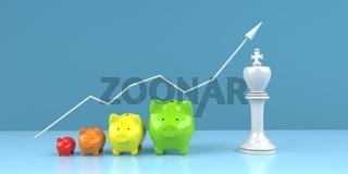 Piggy Banks Successful Investment