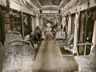 Russian tram Vityaz-M