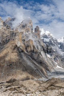 Trango Towers in Pakistan