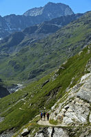 Wandern im Tal Val de Bagnes