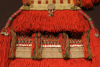 Details from authentic Bulgarian and North Macedonian folk costumes